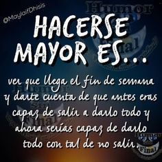 Hacerse... Spanish Quotes, Best Quotes, Inspirational Quotes, Feelings, Words, Funny, Smile, Gross Facts, Sad Love