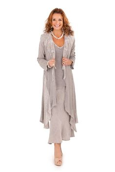 photo of ladies formal daywear design by Ann Balon