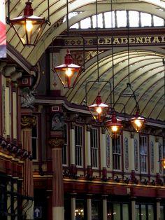 Leadenhall Market, London | #travel #cities #markets