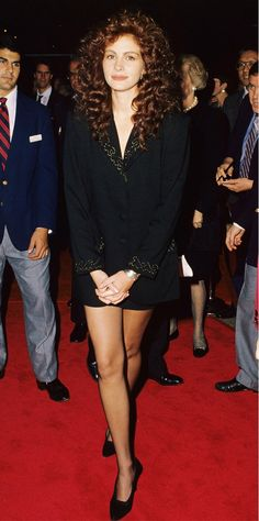 Julia Roberts, 1989 | From SJP to Miranda Kerr: 29 Old Red Carpet Photos You've NEVER Seen via @WhoWhatWear