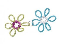 Daisy Chain Seed Bead Tutorial