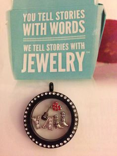 """My """"Southern Country Girl"""" story! Y'all should be gussied up in Origami Owl too! www.MLW71.OrigamiOwl.com"""