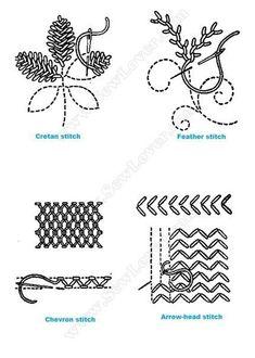 Волшебный стежок - схемы вышивки, рукоделие