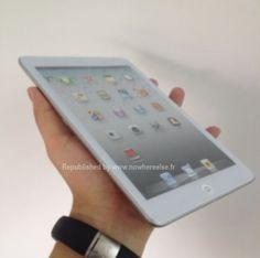 iPad-Mini...funny and I thought the iPhone was the mini iPad...lol