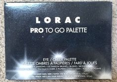 BNIB LORAC PRO To Go Eye/ Cheek Palette #LORAC