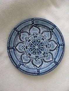 ⊰❁⊱ Mandala ⊰❁⊱ Hand painted mandala style