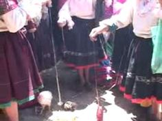 Puschca. My favorite spindle spinning video--Habetrot