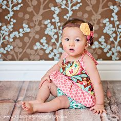fairytale frocks and lollipops :: pink poodle bows, the chelsea romper, girls, baby, infant, toddler, spring, summer, fall, pillowcase, romper, halter, elastic, shorts, play, school, e-pattern, sewing, instant, download, pdf, e-book, tutorial, digipattern