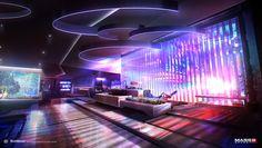 Mass Effect 3 - Apartment Concept - Alex Figini