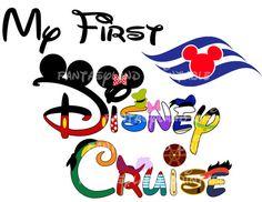 My First Disney Cruise Mickey Fab Five by FantasylandPrintable