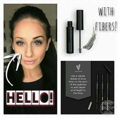 Eye Brow Fiber Gel! Yes I think so.  Need some? Order here youniqueproducts.com/AliciaZiemann
