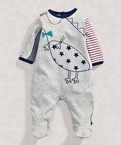 Boys Crocodile Graphic All in One - View All - Mamas & Papas