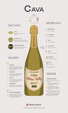 Learn how to identify great Cava wines. Cava is made with the same process as #Champagne. The majority of Cava wine production happens just outside of Barcelona. There are now many high quality Cavas, you just need to know what to look for!