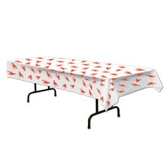 Crawfish Plastic Tablecover - PartyCheap