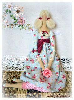 Коллекция кукольных фантазий: Цветочная фея Мадлен