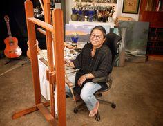 Roy Tabora in his North Shore Oahu studio, June 2013 #art #hawaii