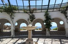 The Gardens Inside The Kalithea Springs In Rhodes Are Not To Be Missed! Seven Springs, Greek Beauty, Grand Entrance, Grand Hotel, Beautiful Architecture, Running Away, Countries Of The World, Rhode Island, Amazing Gardens