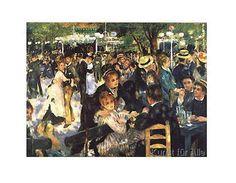 Pierre Auguste Renoir - Der Tanz in Moulin de la Galette