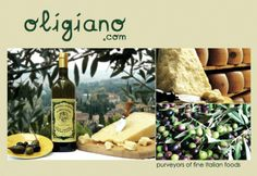 Fine Italian produce delivered to your door in London and Brussels - www.oligiano.com