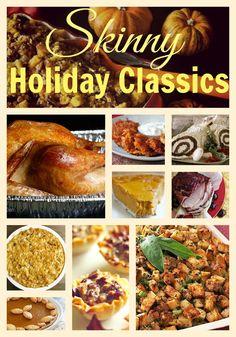 Skinny holiday recipes