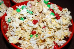 Four Ingredient White Chocolate Popcorn Mama Say What?!   Mama Say What?!