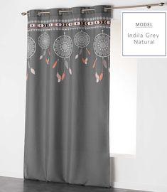 Závěsy do ložnice s lapačem snů Curtains, Shower, Grey, Model, Prints, Home Decor, Rain Shower Heads, Gray, Blinds