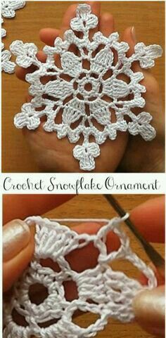 Crochet Motif Snowflakes for Christmas - Loading. I hope you have enjoyed this beautiful crochet, the free pattern is HERE so you can make a beautiful crochet. Crochet Snowflake Pattern, Crochet Stars, Crochet Motifs, Christmas Crochet Patterns, Holiday Crochet, Crochet Snowflakes, Christmas Knitting, Thread Crochet, Crochet Crafts