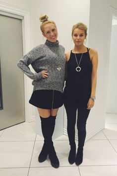 Shopper Hayley and Assistant Jess' outfits of the day! #oxfordcircus