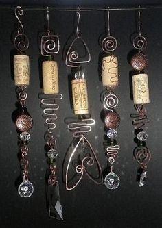 suncatcher - Now i know what to do with the corks I've collected since it has been rainy all the time. by anne