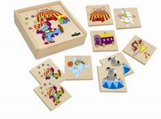 Woody Pexeso Mašinka - cirkus Triangle, Playing Cards, Games, Playing Card Games, Gaming, Toys, Cards, Game Cards, Game