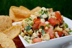 Lauren's Latest » Grilled Corn Salsa
