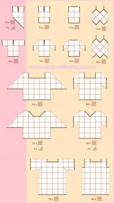 Todo crochet: Diseños de blusas para tejer con grannys