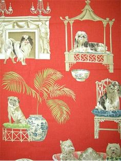 New Fabric Find - Chinoiserie Chic