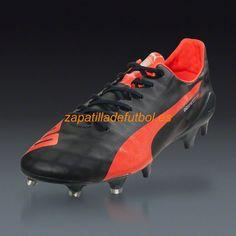 best sneakers 171df e2fa2 Caliente Zapatos de Soccer Puma Evospeed SL FG Eclipse Total De La Lava  Explosiva Blanca