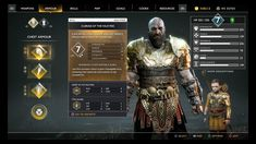 UI Discussion — God of War - The Startup - Medium I Love Games, Games To Play, Game Gui, Pc Game, God Of War Game, Pc Console, Stormlight Archive, Health Bar, Game Ui Design