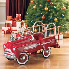 Pedal Fire Truck from PoshTots