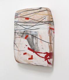 """Fuji Stick,  mixmedia on birch & alder, 41x31x7"""""""