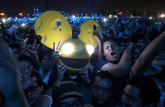 """This is a picture of a crowd during a """"Rave"""". this motivates me because this is what I'm doing it for, I'm not just doing music for myself, I am doing it for the world. This is my purpose.  image taken off AP Image Collection EBSCOHOST"""