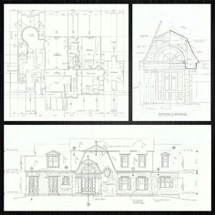 Happy New Year's Eve! Here's a project  from deep in the vault, when construction drawings were done by hand. #tbt #handdrawn