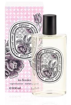 FINALLY found a rose fragrance that has the right amount of sexy w/out over-whelming the senses ♥ Diptyque Eau Rose