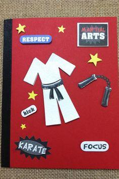 Martial Arts Karate Greeting Card by CardsByMissy on Etsy, $3.00