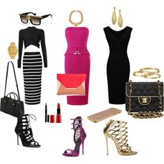 outfits de mi gusto mi estilo NK by normacarmona on Polyvore featuring moda, Amanda Wakeley, Giuseppe Zanotti, Dsquared2, Michael Kors, What Goes Around Comes Around, Sole Society, Mulberry, Marco Bicego and Versace