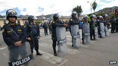 Clashes over conga gold mine project in Peru -- BBC