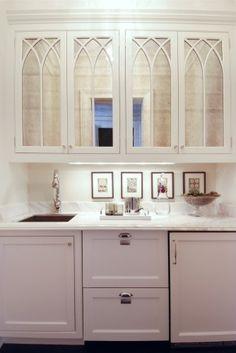 #antique #mirror cabinets