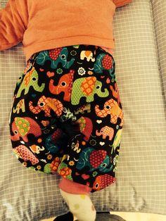 Handmade summer baby harem pants