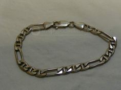 shopgoodwill.com: Italy Sterling Silver Link Bracelet