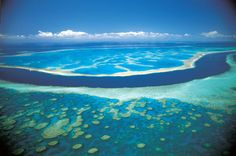 Great Coral Reef--> Australia