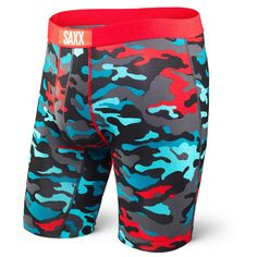 6ee1cbe10d Saxx Underwear Vibe Long Leg Boxer Brief Boxers Underwear