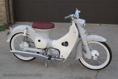 Just bought a 1979 Honda from a friend, and my plans are to strip it down, repaint it and completely tidy it up. Ive even bought myself a shed just to dedicate to the project. Honda Cub, C90 Honda, Honda Ruckus, Concept Motorcycles, Honda Motorcycles, Vintage Motorcycles, Womens Motorcycle Helmets, Bobber Motorcycle, Moped Bike