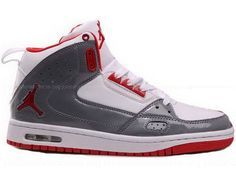 Air Jordan Street Classic White Grey Red